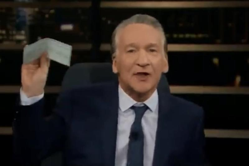 US Talk Show Host Bill Maher Offers Donald Trump $1 Million To Resign in Latest Episode