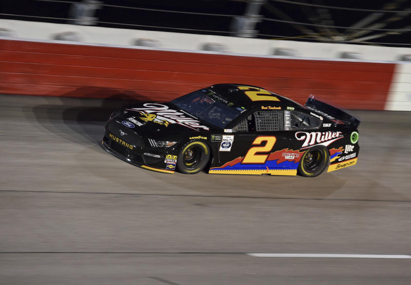 Image result for Erik Jones Holds off Busch to Win Rain-Delayed Southern 500