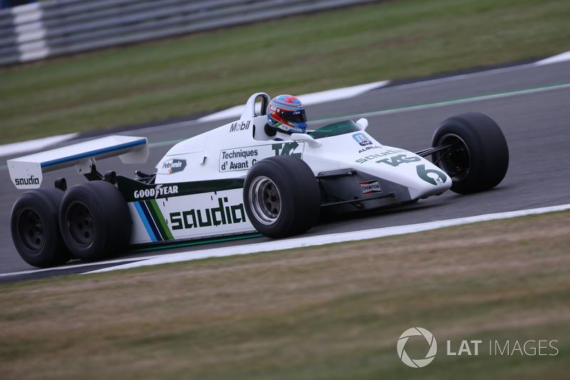 "Williams FW08B <span class=""copyright"">Dom Romney / Motorsport Images</span>"