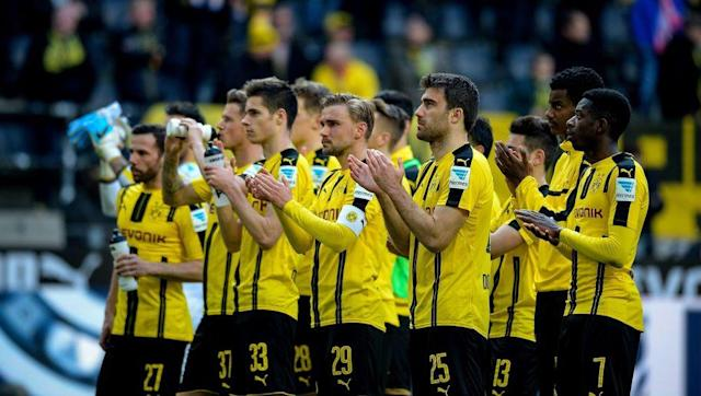 <p>It's been a strange season for the men in yellow. Domestically, they've struggled and although Champions League qualification is done, BVB are 16 points off champions-elect Bayern Munich.</p> <br><p>Nonetheless, the 'Yellow Wall' at the Signal Iduna Park have yet to see their side lose this season, with Thomas Tuchel's men saving their best form for in front of their dedicated supporters.</p>