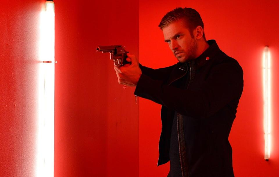 """<p>Want to see <strong>Downton Abbey</strong>'s Dan Stevens in a whole new light? Watch this thriller in which he ditches his accent to play a mysterious soldier who is taken in by the family of his fallen comrade.</p> <p><a href=""""http://www.netflix.com/search/the%2520guest?jbv=70300664&amp;jbp=1&amp;jbr=0"""" class=""""link rapid-noclick-resp"""" rel=""""nofollow noopener"""" target=""""_blank"""" data-ylk=""""slk:Watch The Guest on Netflix now."""">Watch <strong>The Guest</strong> on Netflix now.</a></p>"""