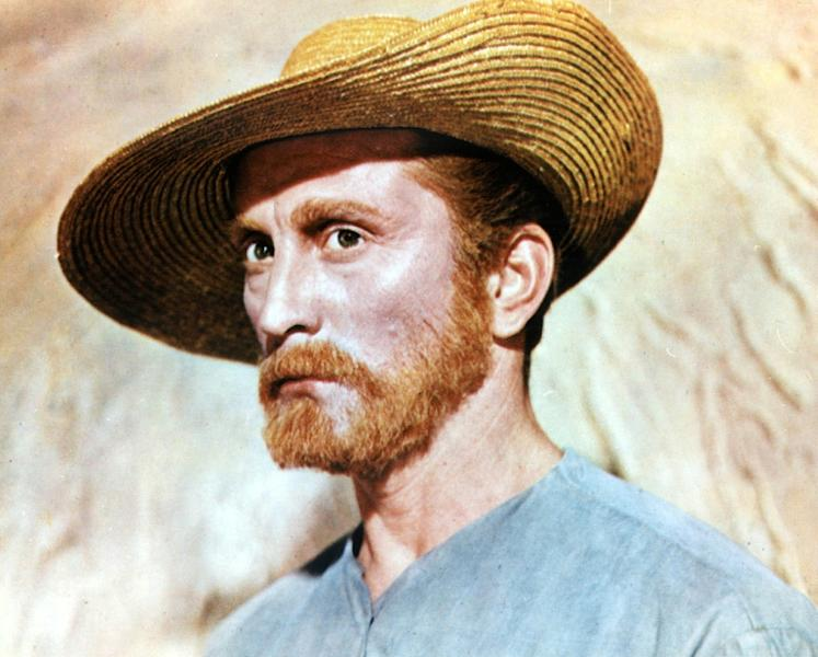 "Kirk Douglas, pictured as the Dutch painter Vincent Van Gogh in 1956 film ""Lust for Life"""