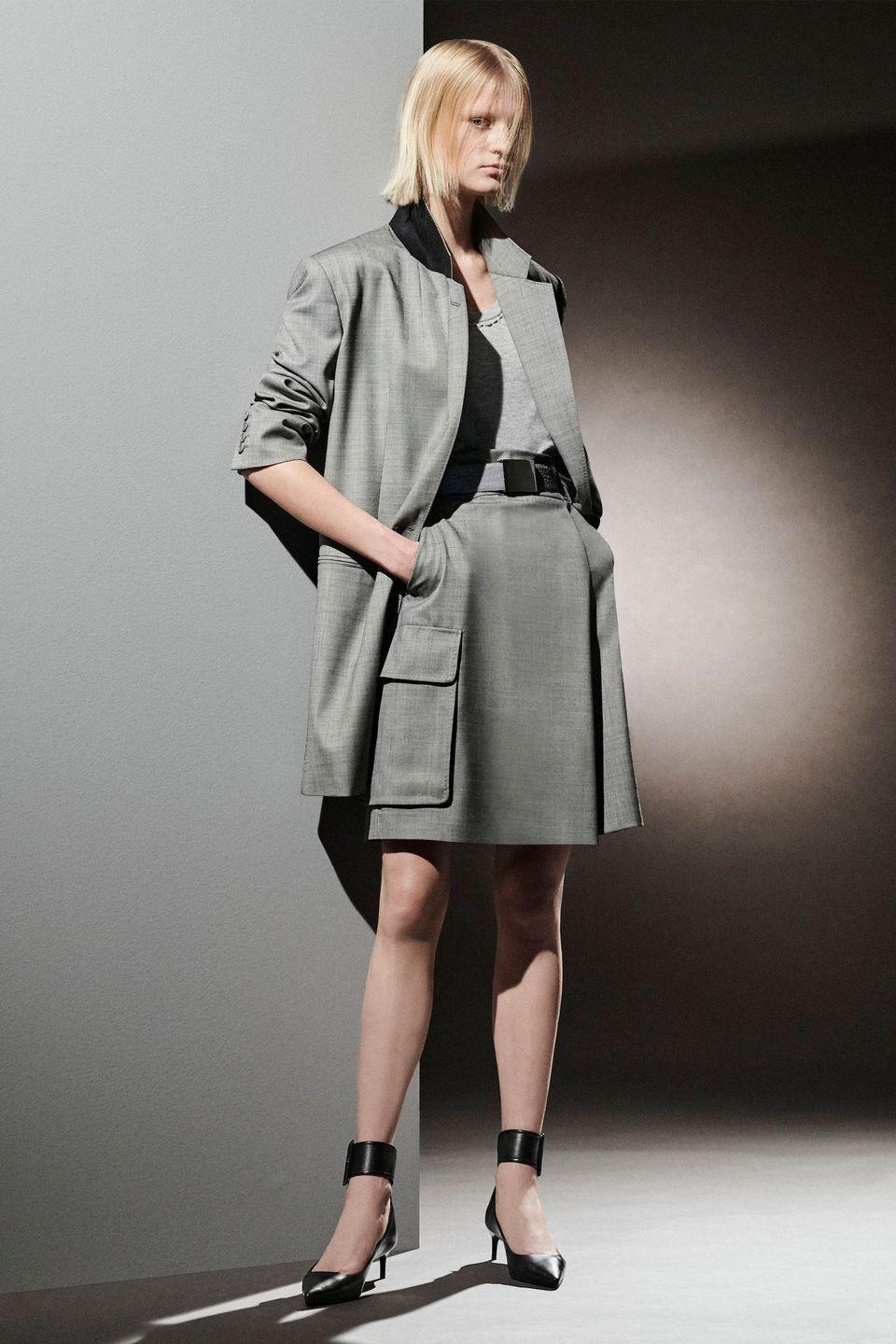 """<p>Max Mara, for the pre-fall season, looked toElizabeth """"Lee"""" Miller for inspiration. The fashion and art photographer is know for being a war correspondant for glossies during WWII, which is reflected in the military-style tailoring, large pockets, and utility belts. </p>"""