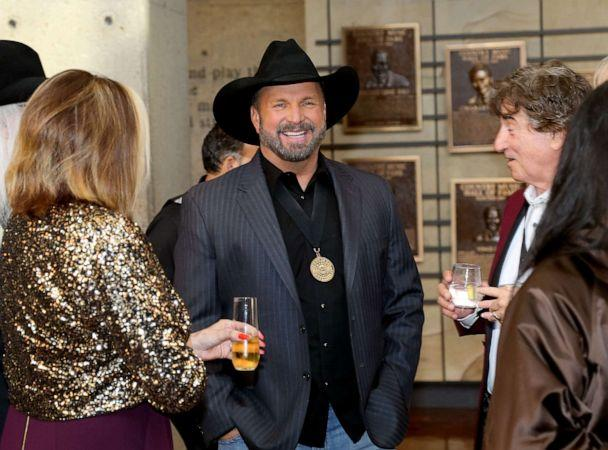PHOTO: Garth Brooks attends the 2019 Country Music Hall of Fame Medallion Ceremony at Country Music Hall of Fame and Museum on Oct. 20, 2019 in Nashville, Tenn. (Terry Wyatt/Getty Images)