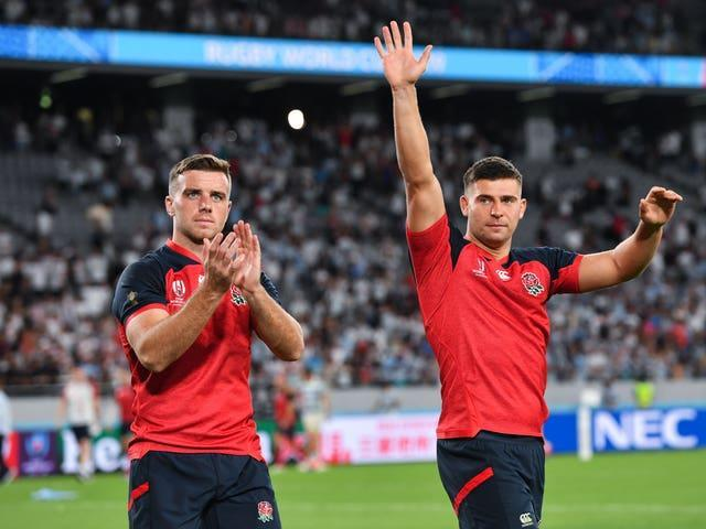 George Ford (left) and Ben Youngs (right) are among the England players to be rested this summer