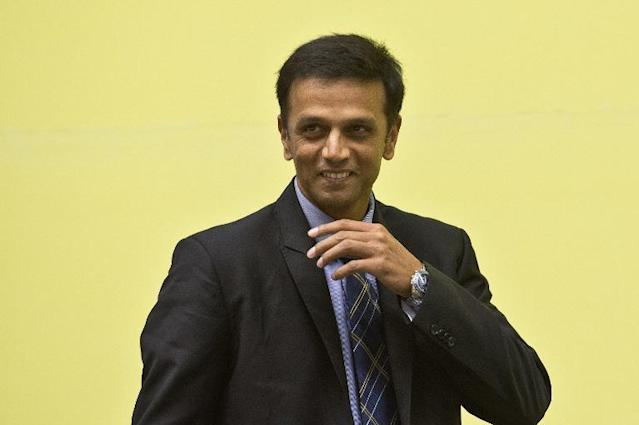 Indian cricketer Rahul Dravid, shown in New Delhi on November 12, 2013, says India's largely unproven attack will decide if the tourists win their forthcoming Test series in England (AFP Photo/Prakash Singh)