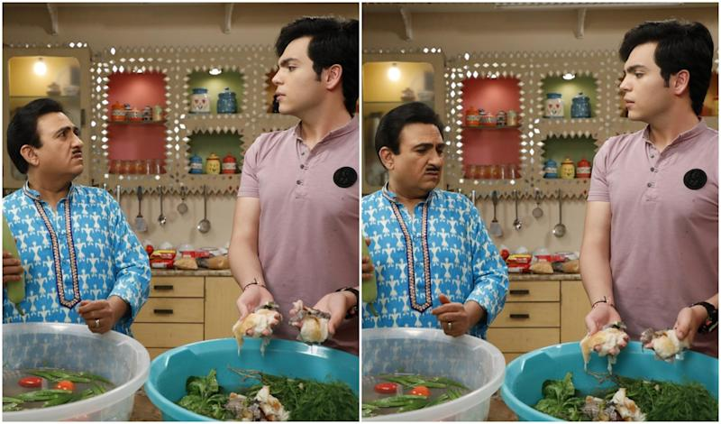 Taarak Mehta Ka Ooltah Chashmah Episode Update: Jethalal Absentmindedly Sanitizes Bread Along With Vegetables
