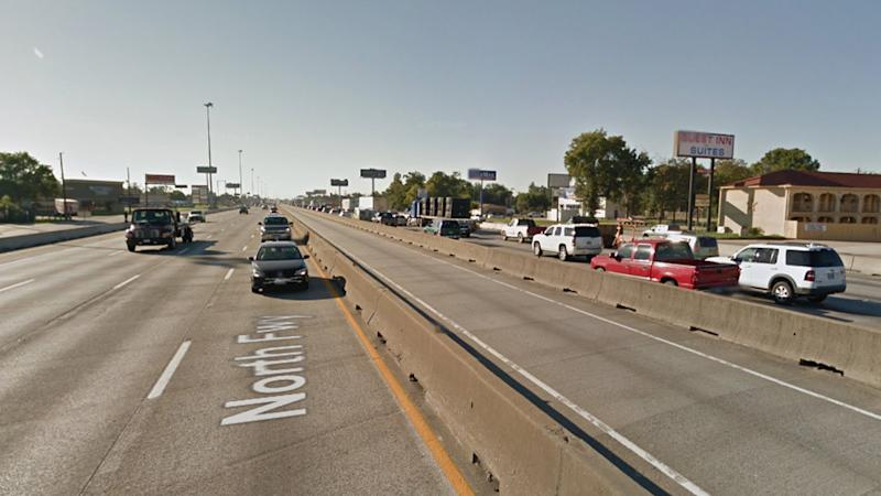 Pictured is the North Freeway in Houston, Texas. Source: Google Maps