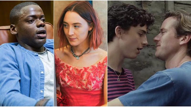 Get Out, Lady Bird and Call Me By Your Name reflect the diversity in Best Picture nominations at this year's Oscars.