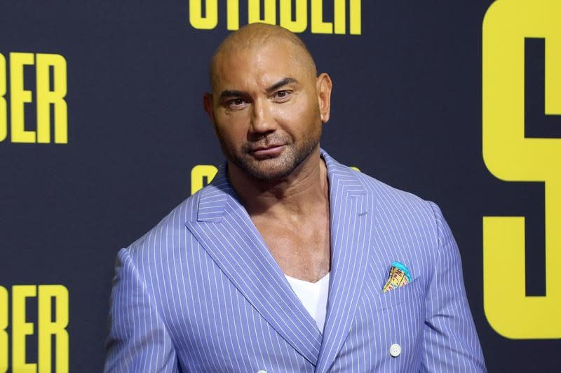 Actor Dave Bautista is now guardian to 2 abandoned pit bulls