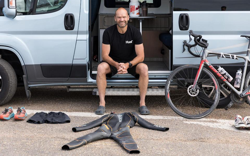 Monty Halls reflects on his experience completing the Royal Marines Iron Challenge