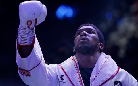 Anthony Joshua ready to go - Credit: Action Images via Reuters/Andrew Couldridge