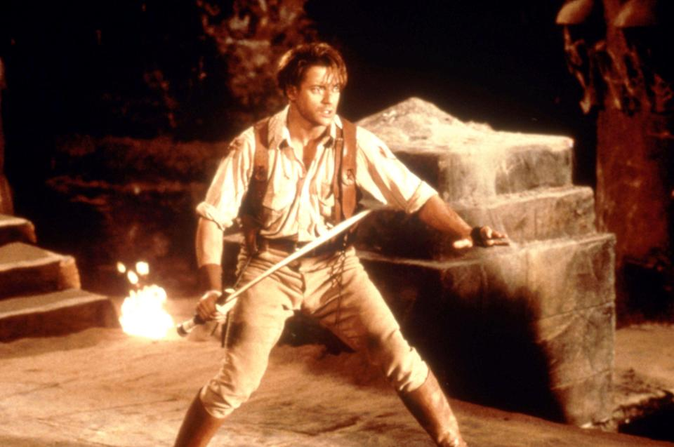 Brendan Fraser in 'The Mummy' (Photo: Universal Pictures/Courtesy: Everett Collection)