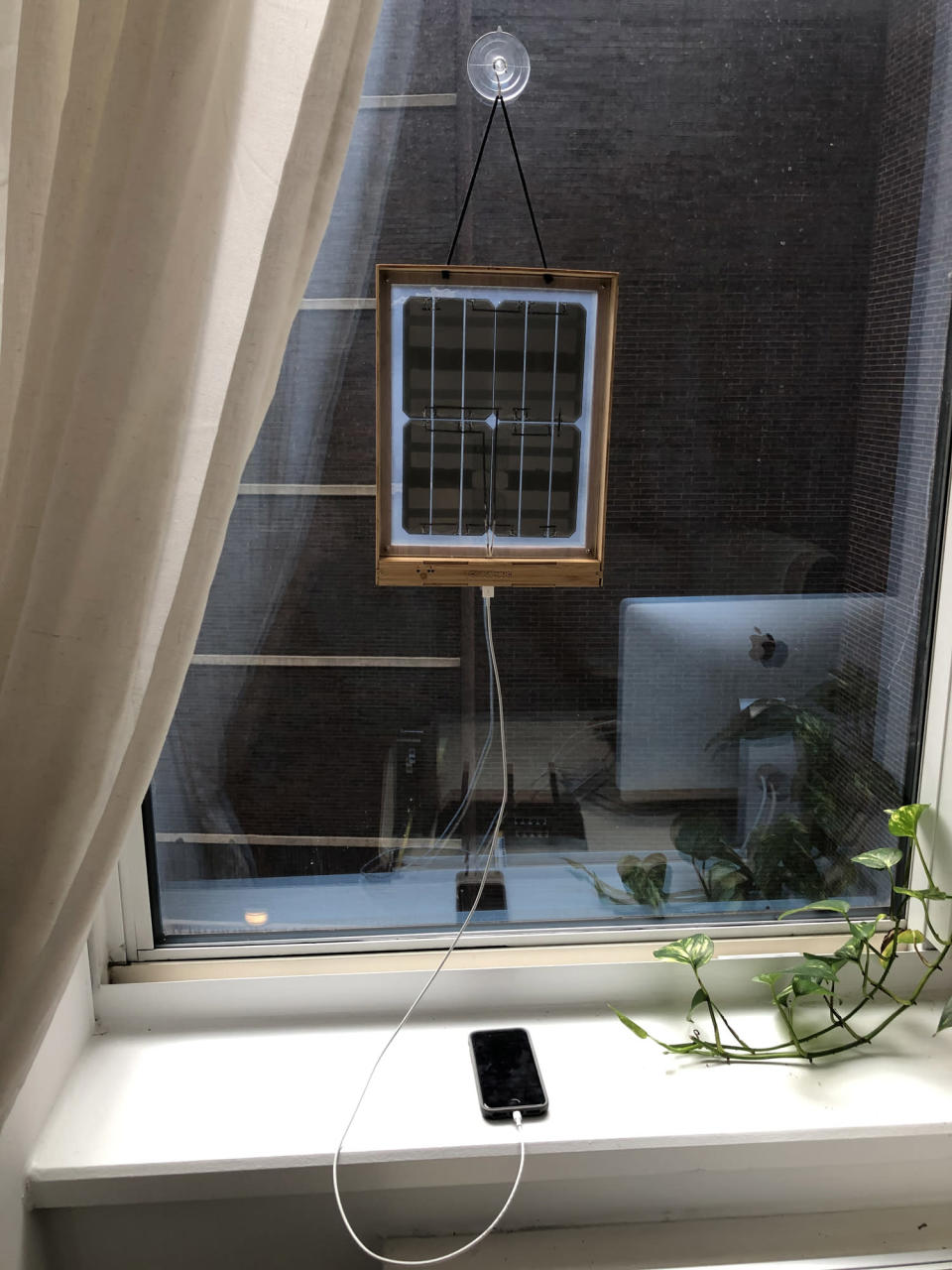 """<p>""""My all-time favorite eco-friendly swap has got to be my window solar charger from <a href=""""https://grouphugtech.com/products/window-solar-charger"""" rel=""""nofollow noopener"""" target=""""_blank"""" data-ylk=""""slk:Grouphug"""" class=""""link rapid-noclick-resp"""">Grouphug</a>. All you need to do is hang it in a sunny spot in your home and you can use solar energy to charge any of your electronic devices. I use it to charge my phone and iPad, and everyone who comes over always asks about it. It's an awesome item to gift to friends and family to jumpstart their sustainable journey.""""</p> <p>— <b>Diane J. Cho, Features Editor</b></p>"""