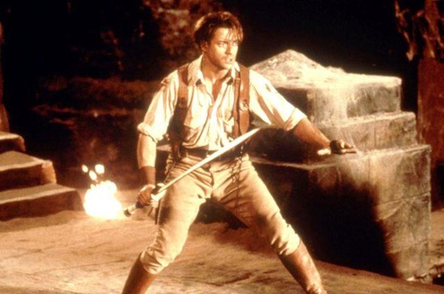 Brendan Fraser in 'The Mummy,' 1999 (Photo: Universal Pictures/Everett Collection)