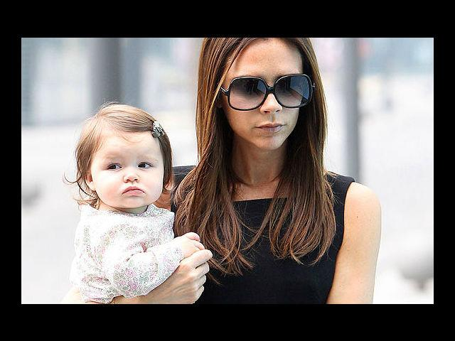 <b>1. Victoria and Harper Seven Beckham</b><br>Call Posh Spice what you will, this woman redefined fashion for generations to come. She has her bony, fashionable finger on the button when it comes to making a style statement and boy, does she do it with panache! As if on cue, adorable Harper Seven hasn't set one little baby foot out of style ever since she graced the world two years ago. Of course, this is only because VB knows how imperative it is for Harper to begin her life oh-so-fashionably... and how!