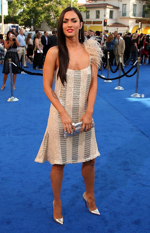 <p>The 21-year-old actress, appearing at the <em>Transformers</em> premiere on June 27, 2007, scored her breakthrough role as the love interest of Shia LaBeouf's character in the first film<em>.</em> (Photo: Frazer Harrison/Getty Images) </p>