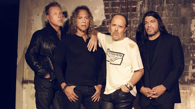 On the Charts: Metallica's 'Hardwired' is Best Rock Debut of 2016