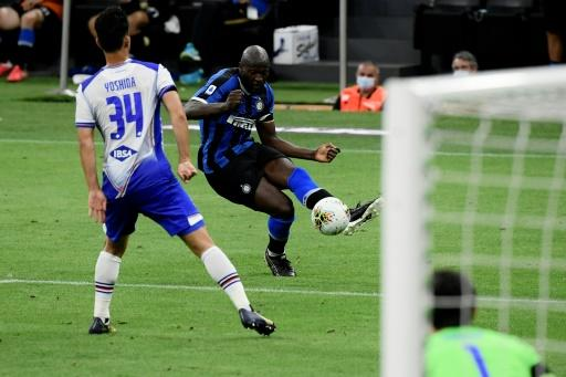 Lukaku has scored 24 goals in all competitions this season for Inter
