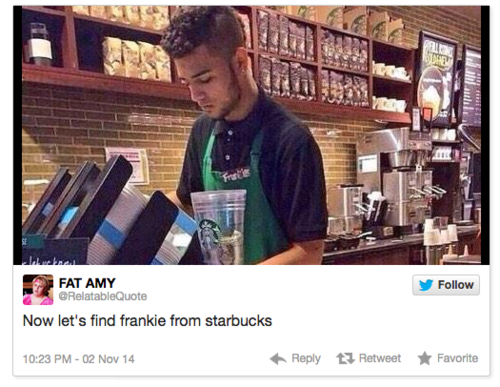 Starbucks employee