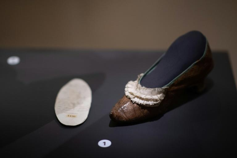 Marie-Antoinette's nightgown, a shoe she is believed to have lost on her way to the guillotine and the last letter she wrote all form part of the exhibition