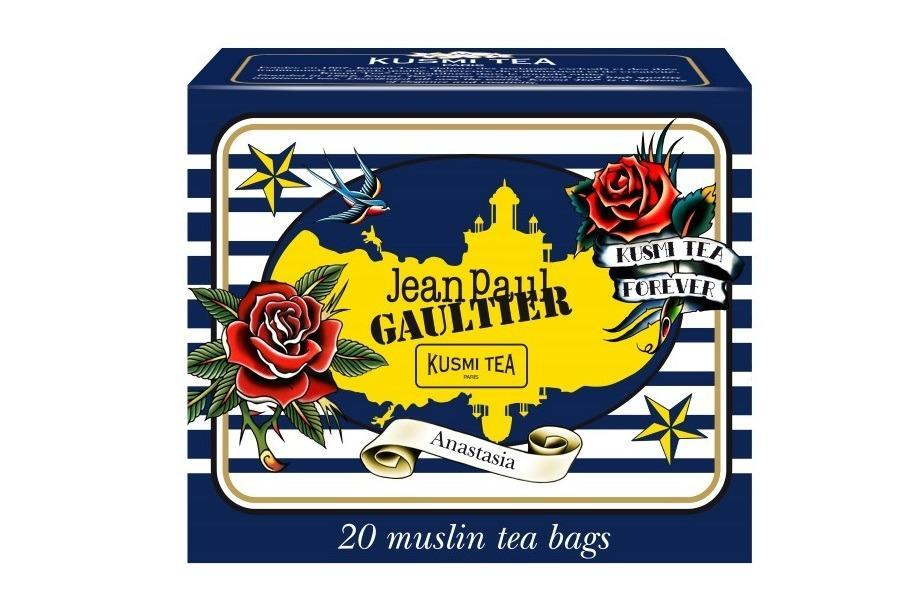 "<p>20 quality muslin tea bags filled with a blend of black teas, lemon, orange blossom, and bergamot — all in chic designer packaging. <a href=""https://us-en.kusmitea.com/the-detox/anastasia.html?packaging=52"" rel=""nofollow noopener"" target=""_blank"" data-ylk=""slk:Kusmi Tea Jean Paul"" class=""link rapid-noclick-resp"">Kusmi Tea Jean Paul </a>Gaultier Anastasia ($15)<br></p>"