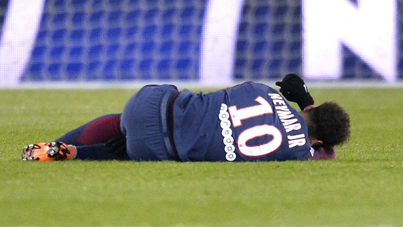Neymar out for up to three months with foot injury