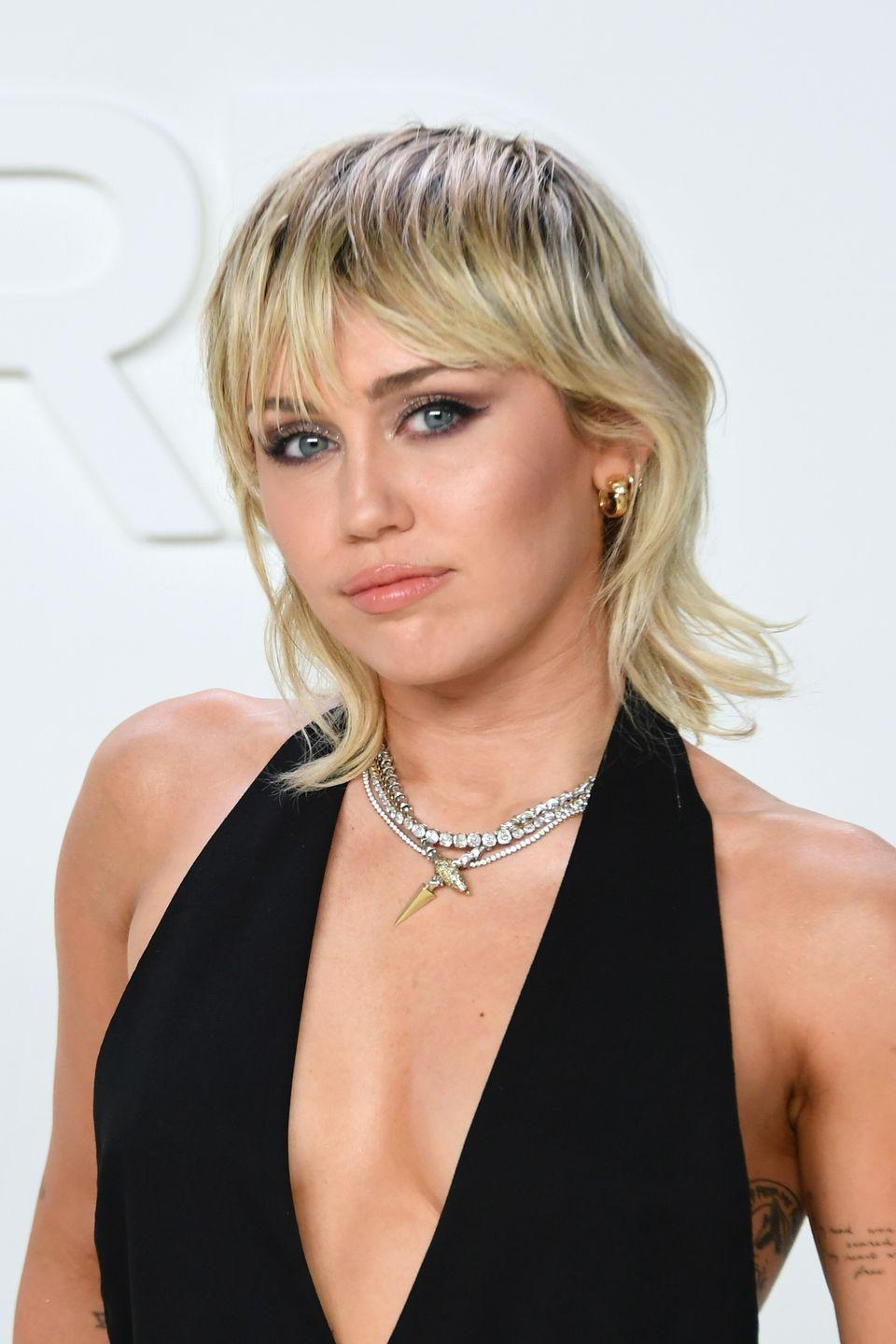 <p>Miley's latest style seems slightly mullet-inspired, but so much cooler. The grown-out roots give her style an extra edge that's perfect for anyone who loves going against the norm. </p>