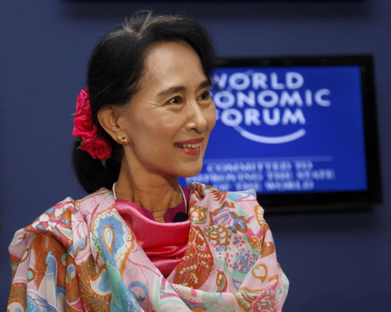 Myanmar's Suu Kyi says she hopes to be president