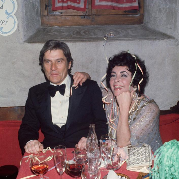 Celebrating the New Year in Gstaad in 1976 - James Andanson/Sygma via Getty Images