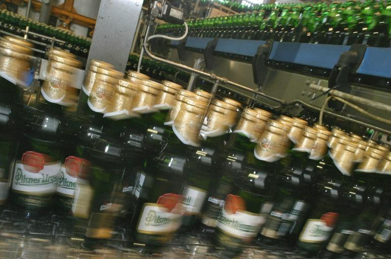 Pilsner Urquell is one of the Czech breweries switching from kegs to ottles and cans as the bars shut and people do more beer drinking at home
