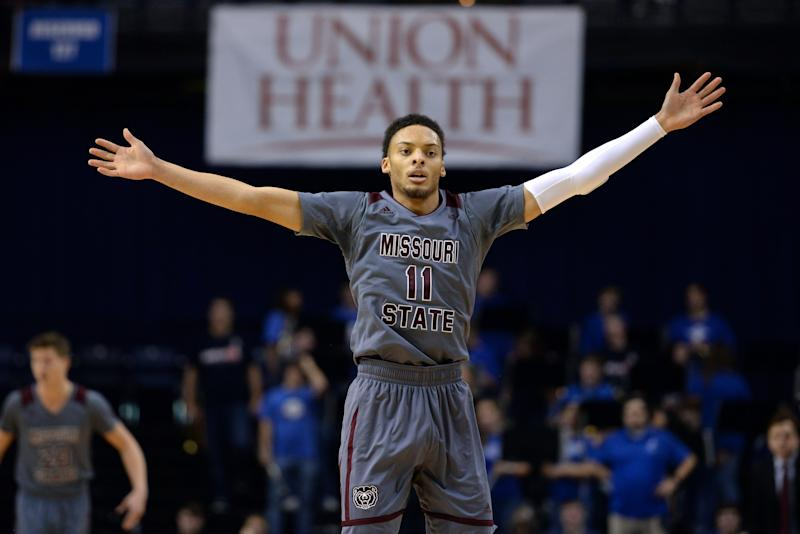 Missouri State Beats Illinois State On Wild Half-Court Shot