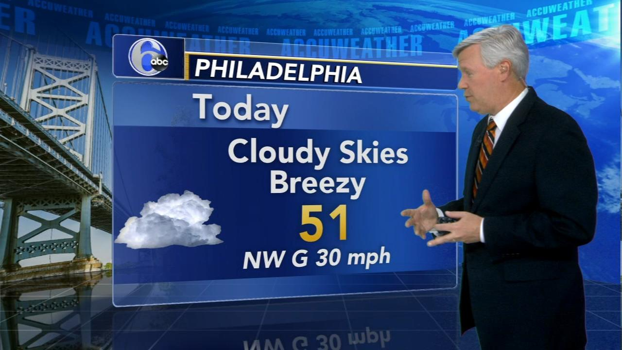 Meteorologist David Murphy says a mix of light snow and sleet are likely during the day on Thursday with an eventual change to rain.