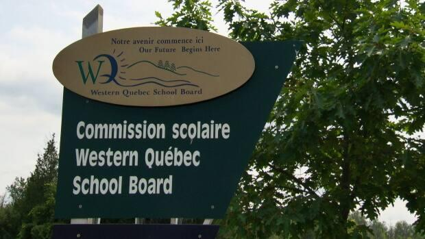 Schools in the Western Quebec School Board will switch to distanced learning for Monday and Tuesday. (CBC - image credit)