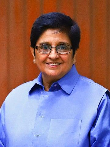 The former tennis player, retired IPS officer and politician started her political career when she joined India Against Corruption movement led by social activist Anna Hazare in 2011. She parted ways with the Movement after Arvind Kejriwal faction went on to form the Aam Aadmi Party. During the 2014 general elections, Bedi openly supported Narendra Modi, who was the then prime ministerial candidate from BJP. Bedi, who moved to BJP in 2015, was BJP's candidate during the Delhi elections and was defeated by AAP candidate SK Bagga. She is the current Lieutenant Governor of Puducherry. <em><strong>Image credit: </strong></em>By Prabu kanna - Own work, CC BY-SA 4.0, https://commons.wikimedia.org/w/index.php?curid=82932394