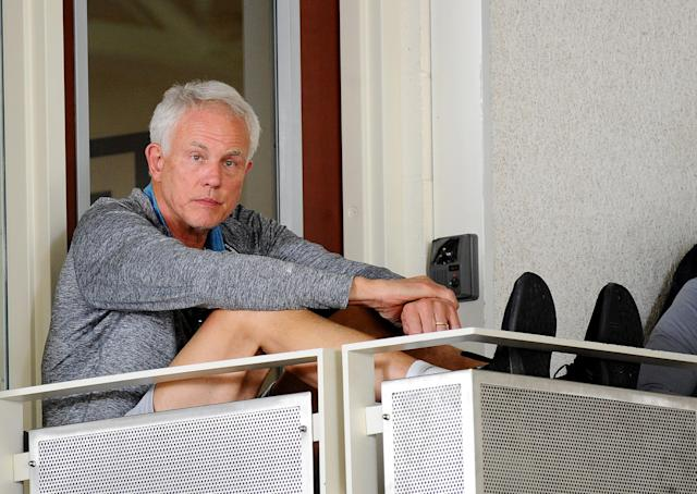Mitch Kupchak mulls it over. (Getty)