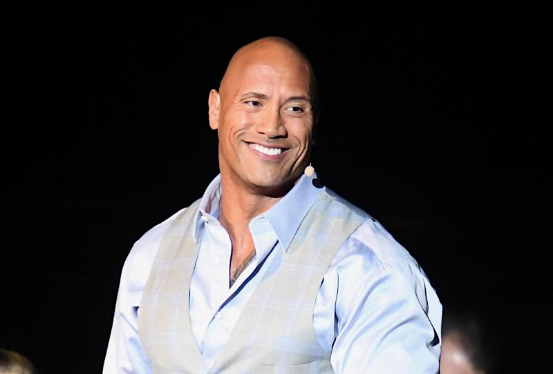 Dwayne Johnson: Getty