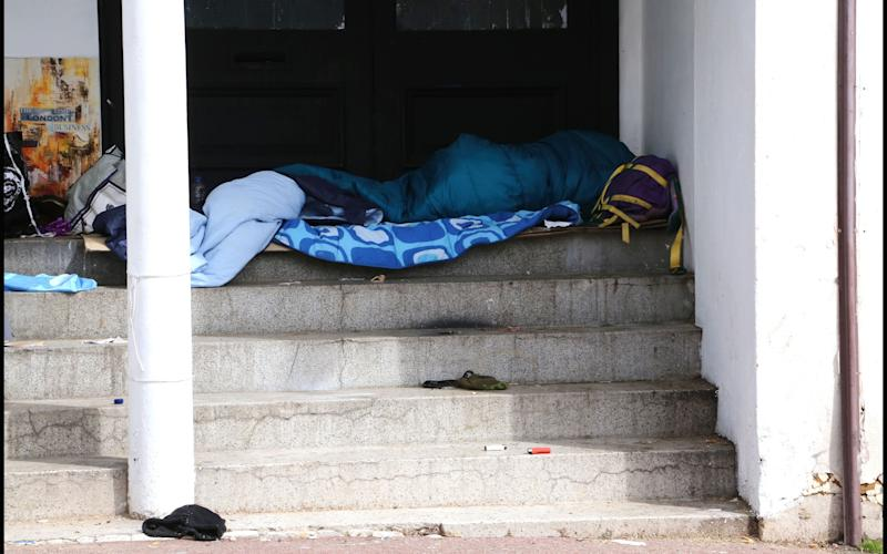 Homeless people are particularly at risk, the police chief said - Credit: Sam Sheldon