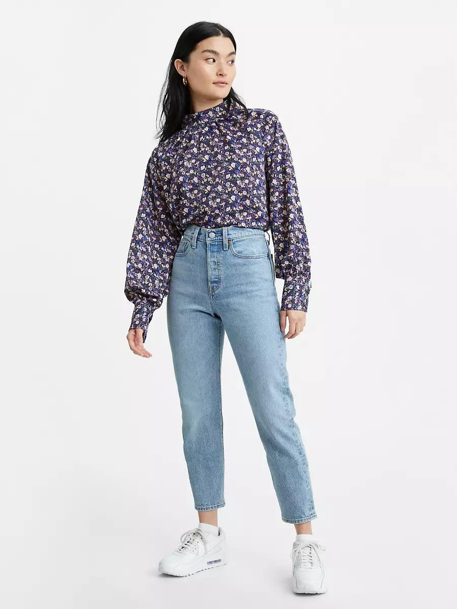 <p>If I could dream up my perfect jeans, it would be these <span>Levi's Wedgie Fit Ankle Jeans</span> ($98). I love the light wash, the straight leg silhouette, and the bum-sculpting fit.</p>