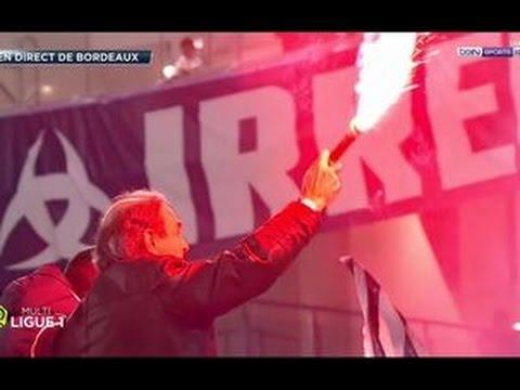 <p>For his last game as Bordeaux's president after a lengthy 21 year stint, Jean-Louis Triaud enjoyed a nice moment of communion with the supporters after his team's large victory over Montpellier (5-1). </p> <br><p>A memorable final game for the supporters, and the now former-president, who lit up a flare and mimed smoking it with the fans like a cigar. <em>Au revoir,</em> President! </p>