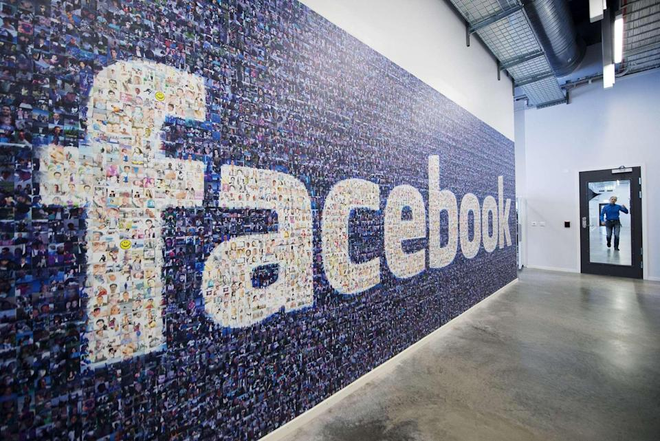 Facebook is loosening restrictions for crypto ads now that the social media giant is close to launching its own stablecoin.  | AFP PHOTO / JONATHAN NACKSTRAND