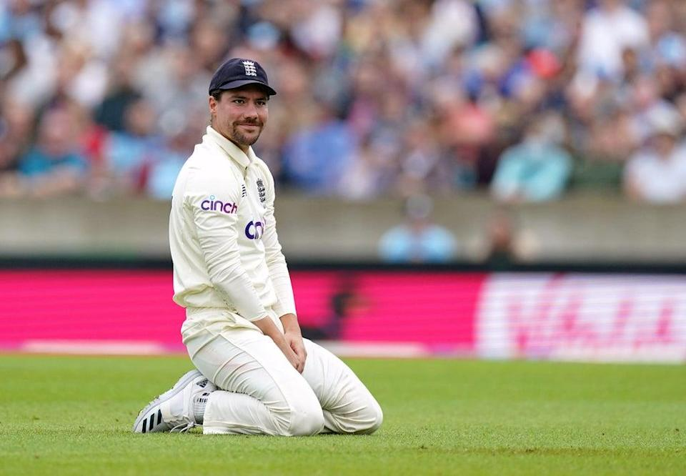 Rory Burns dropped a difficult slip catch which would have ended Rohit Sharma's innings on 31 (Adam Davy/PA) (PA Wire)