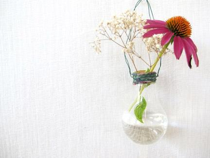 """<div class=""""caption-credit""""> Photo by: Free People</div><div class=""""caption-title"""">Light Bulb Vase</div>How many old light bulbs have you tossed out in your day? Probably a lot! Toss them out no more and instead make sweet little bud vases! <br> <i><a href=""""http://www.babble.com/crafts-activities/upcycled-10-crafts-that-you-can-make-from-trash-and-turn-into-treasure/?cmp=ELP bbl lp YahooShine Main  031313  Upcycled10CraftsThatYouCanMakeFromTrashAndTurnIntoTreasure famE   """" rel=""""nofollow noopener"""" target=""""_blank"""" data-ylk=""""slk:Get the tutorial at Free People"""" class=""""link rapid-noclick-resp"""">Get the tutorial at Free People</a> <br> <a href=""""http://www.babble.com/crafts-activities/upcycled-10-crafts-that-you-can-make-from-trash-and-turn-into-treasure/?cmp=ELP bbl lp YahooShine Main  031313  Upcycled10CraftsThatYouCanMakeFromTrashAndTurnIntoTreasure famE   """" rel=""""nofollow noopener"""" target=""""_blank"""" data-ylk=""""slk:For 3 more amazing ways to upcycle old household items, visit Babble!"""" class=""""link rapid-noclick-resp""""><b>For 3 more amazing ways to upcycle old household items, visit Babble!</b></a></i>"""