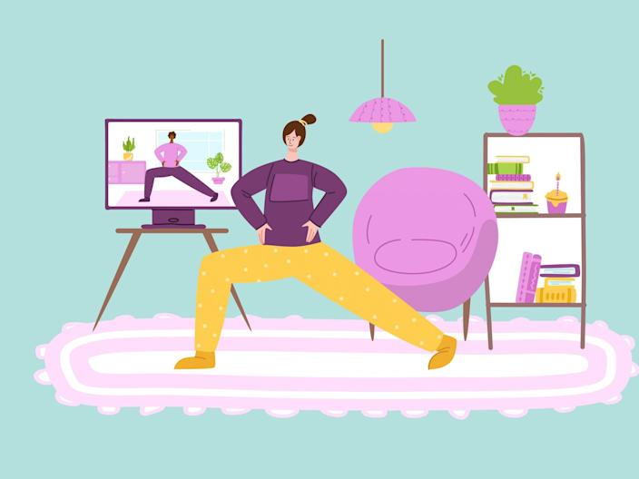 Find some motivation at home with these top classes (iStock)