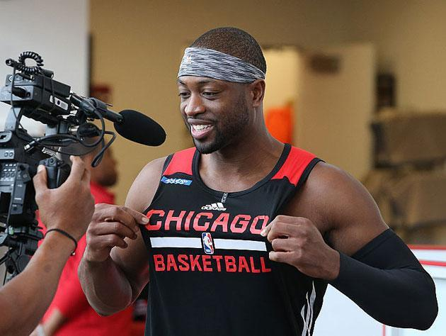 Dwyane Wade, breakin' all the rules. (Getty Images)