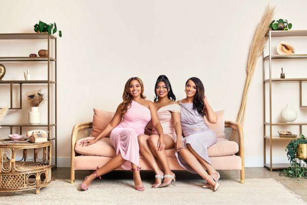 AMP Beauty LA is a newly launched e-commerce retailer for Black-owned beauty brands created by three sorority sisters Angel Lenise, Montré Moore and Phyllicia Phillips. (Courtesy of AMP Beauty LA)