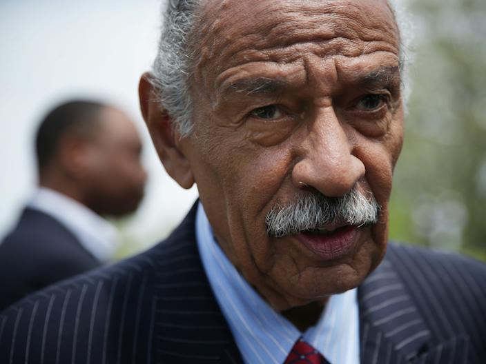 Rep. John Conyers was the architect of a Congressional bill calling for reparations.