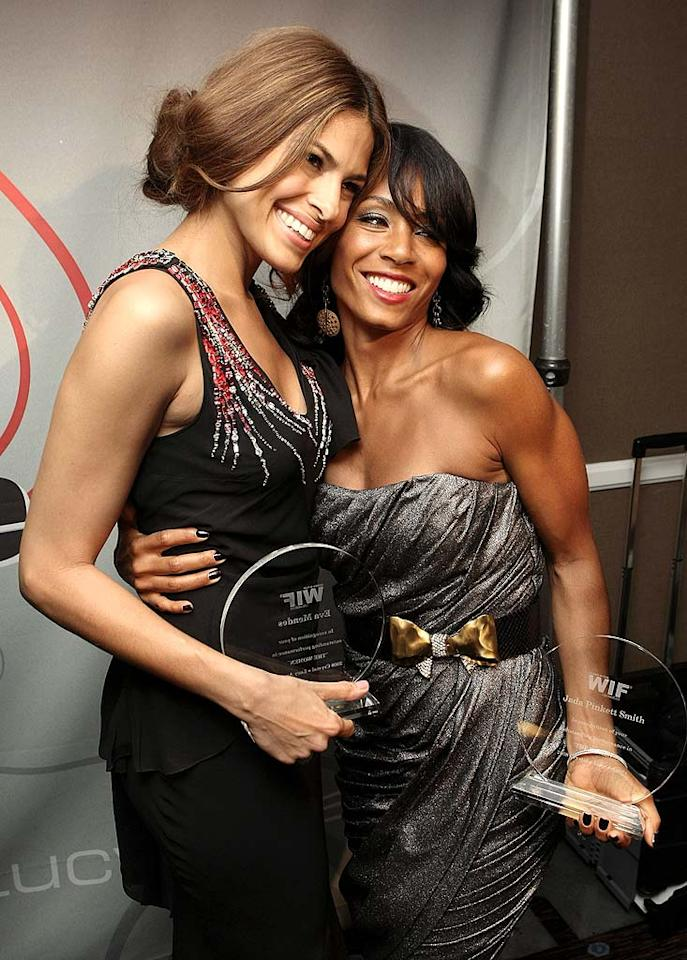 """If we had arms like Jada Pinkett Smith's, we'd wear sleeveless gowns all the time! Eric Charbonneau/<a href=""""http://www.wireimage.com"""" target=""""new"""">WireImage.com</a> - June 17, 2008"""