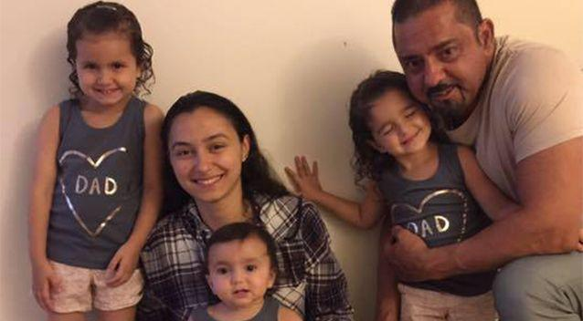 The family had five daughters before their baby son came along. Photo: Facebook
