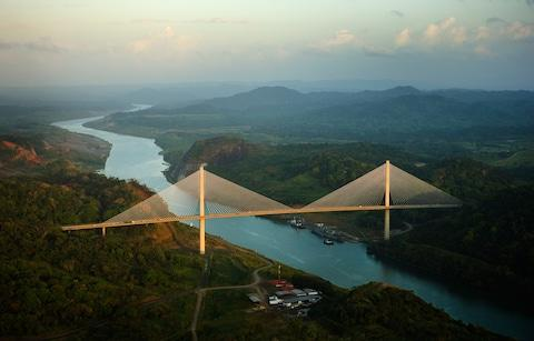 Panama Canal - Credit: Getty